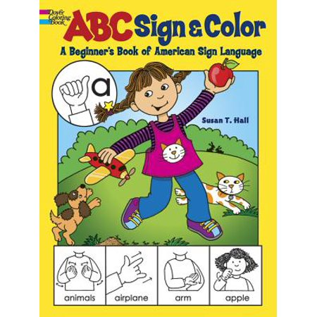 ABC Sign and Color : A Beginner's Book of American Sign Language](Abc 31 Nights Of Halloween)