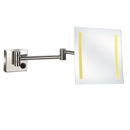 UCore LED Wall Magnifying Plug in Mirror