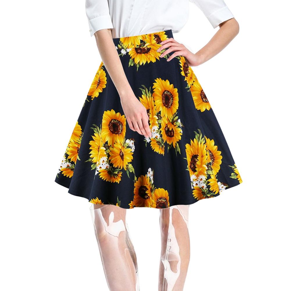 Children/'s Place Sunflower Skirt Denim Skort 24 Mos Hand Painted Clothing Painted Denim