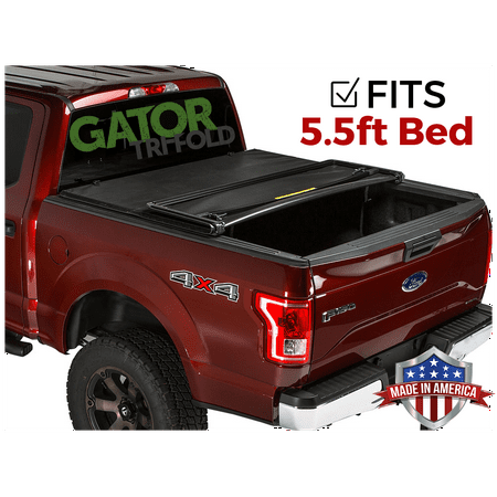 Gator ETX Tri-Fold (fits) 2004-2008 Ford F150 5.5 FT Bed Only Tonneau Truck Bed Cover Made in the USA
