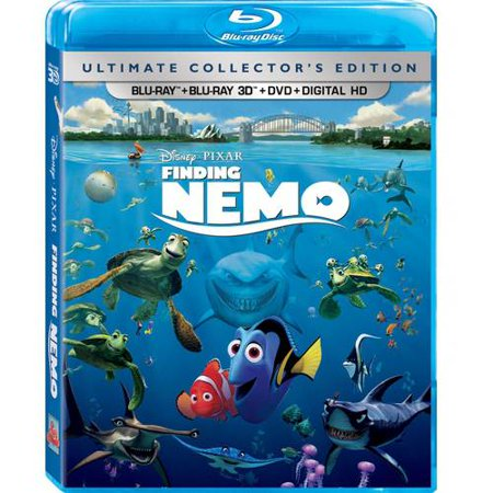 Finding Nemo (Ultimate Collector's Edition) (Blu-ray + Blu-ray 3D + DVD + Digital HD)