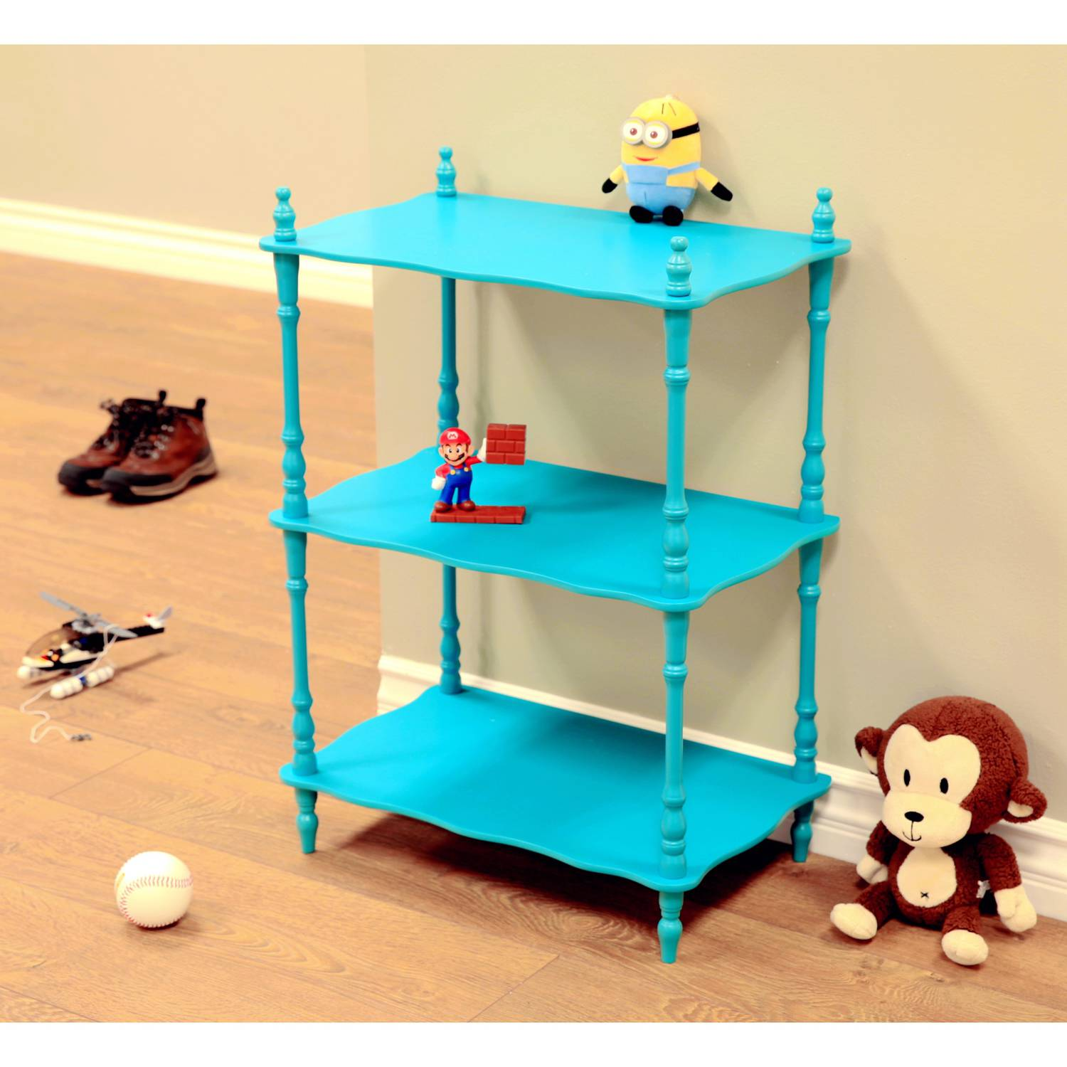 Home Craft 3-Tier Shelves, Multiple Colors