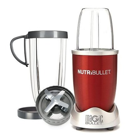 NutriBullet 8 pcs High-Speed Blender/Mixer System, 600 Watt-Red