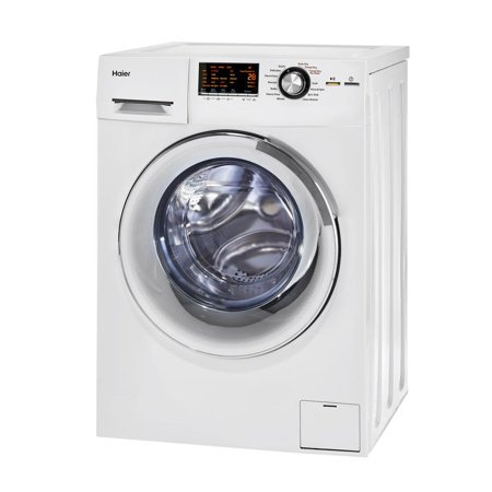 Haier 24-Inch Wide Front Load Washer And Dryer Combination, White | (Best Rated Front Load Washer And Dryer 2019)