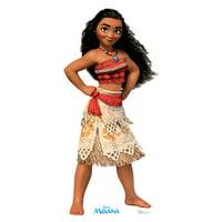 Moana (Disney) Cardboard Stand-Up, 5ft