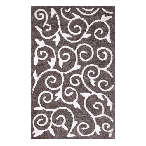 Affinity Linens Gray / White Area Rug
