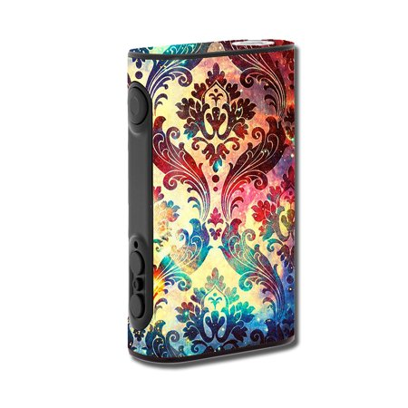 Skins Decals For Eleaf Ipower 80W Vape Mod / Galaxy Paisley Antique