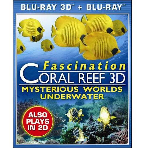 Fascination Coral Reef 3D: Mysterious Worlds Underwater (Blu-ray 3D + Blu-ray) (Widescreen)