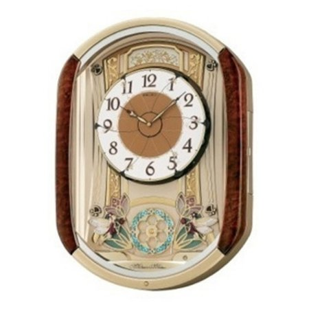 Seiko Dancing Fairies Melodies in Motion Wall Clock - 15.25-in. Wide