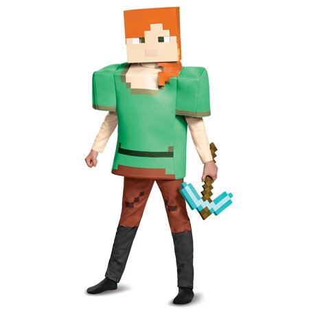 Alex Deluxe Minecraft Child Costume