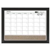 """Quartet Home Decor Magnetic Calendar, Dry-Erase, 17"""" x 23"""" (22476)"""