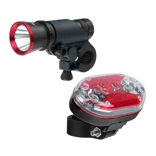 ViceHQ Super Bright CREE LED Torch Flashlight with bonus 9-LED Safety Taillight