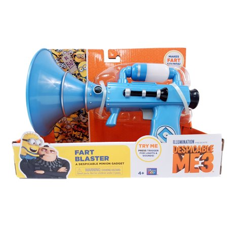 Despicable Me 3 Fart Blaster