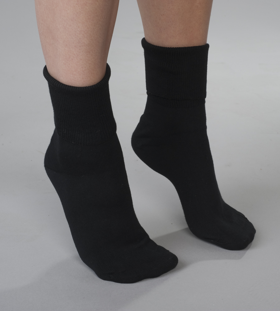 3-Pack Buster Brown Women's Buster Brown 100% Cotton Socks - Pack of 3 Pairs