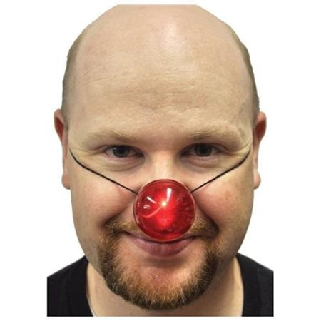 Light-Up Red Nose Adult Halloween Accessory