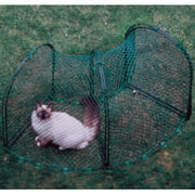 "Kittywalk Curves 2 Outdoor Cat Enclosure, Green, 48"" x 18"" x 24"""