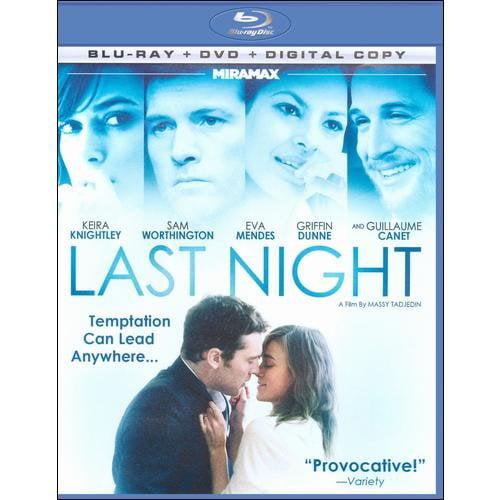 Last Night (Blu-ray + Standard DVD) (Widescreen)