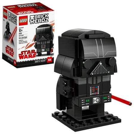 LEGO BrickHeadz Darth Vader 41619 Building Set (104 (Darth Vader Set)