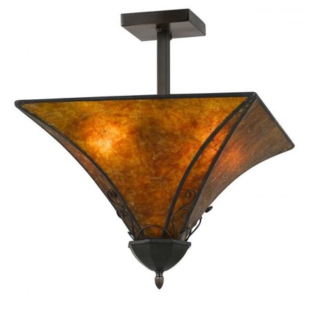 Cal Lighting Mica Metal Fixture
