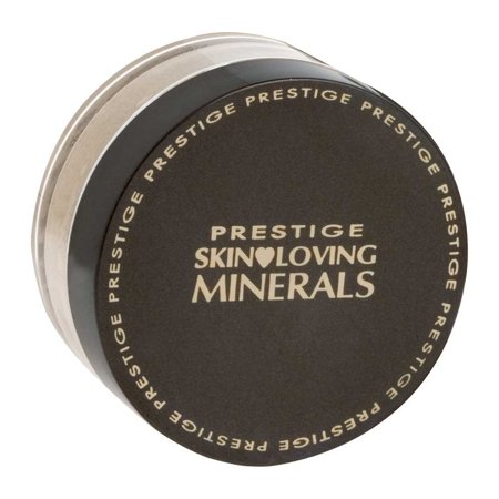 Skin Loving Minerals Gentle Finish Mineral Powder Foundation, Warm Ginger, 0.23 Ounce, Full natural coverage By Prestige Cosmetics from