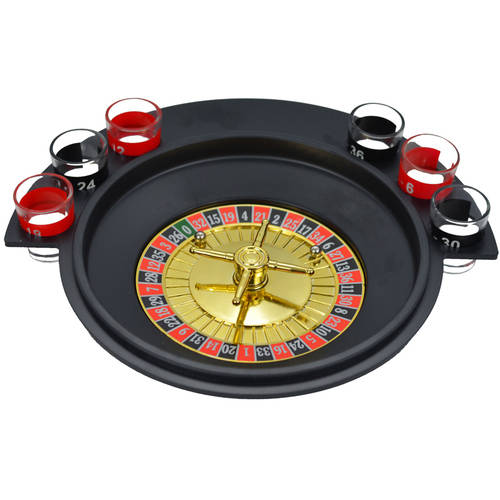 Shot Glass Roulette Comes With 2 Balls and 6 Shot Glasses Drinking Game Set