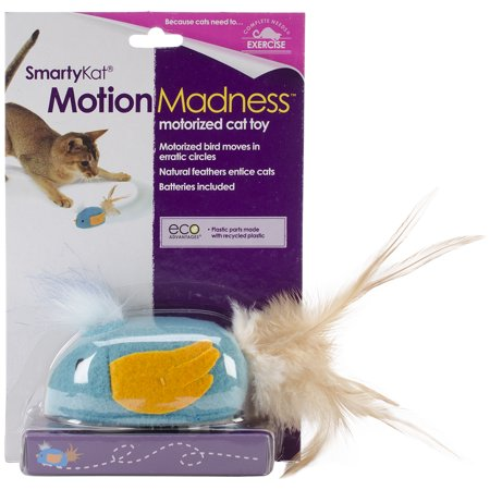 SmartyKat ® Motion Madnessâ ¢ Bird Electronic Motion Cat Toy
