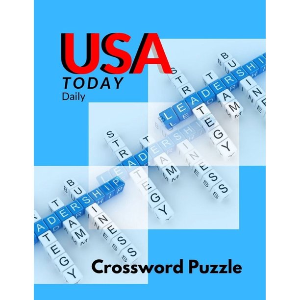 Usa Today Daily Crossword Puzzle Today S Contemporary Words As Crossword Puzzle Book Kriss Kross Puzzle Crossword Puzzle Brand New Number Cross Puzzles Paperback Walmart Com Walmart Com