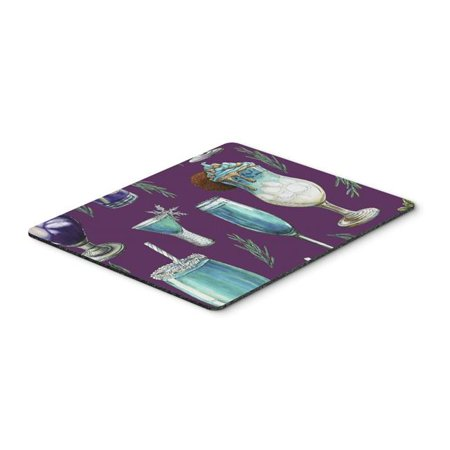 Carolines Treasures BB5204MP Drinks & Cocktails Purple Mouse Pad, Hot Pad or Trivet - image 1 of 1