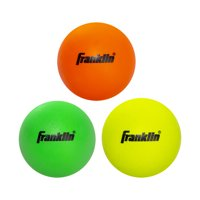 Franklin Sports Youth Lacrosse Balls - Soft Rubber Lacrosse Balls for Kids - Perfect for Beginners - 3 Pack