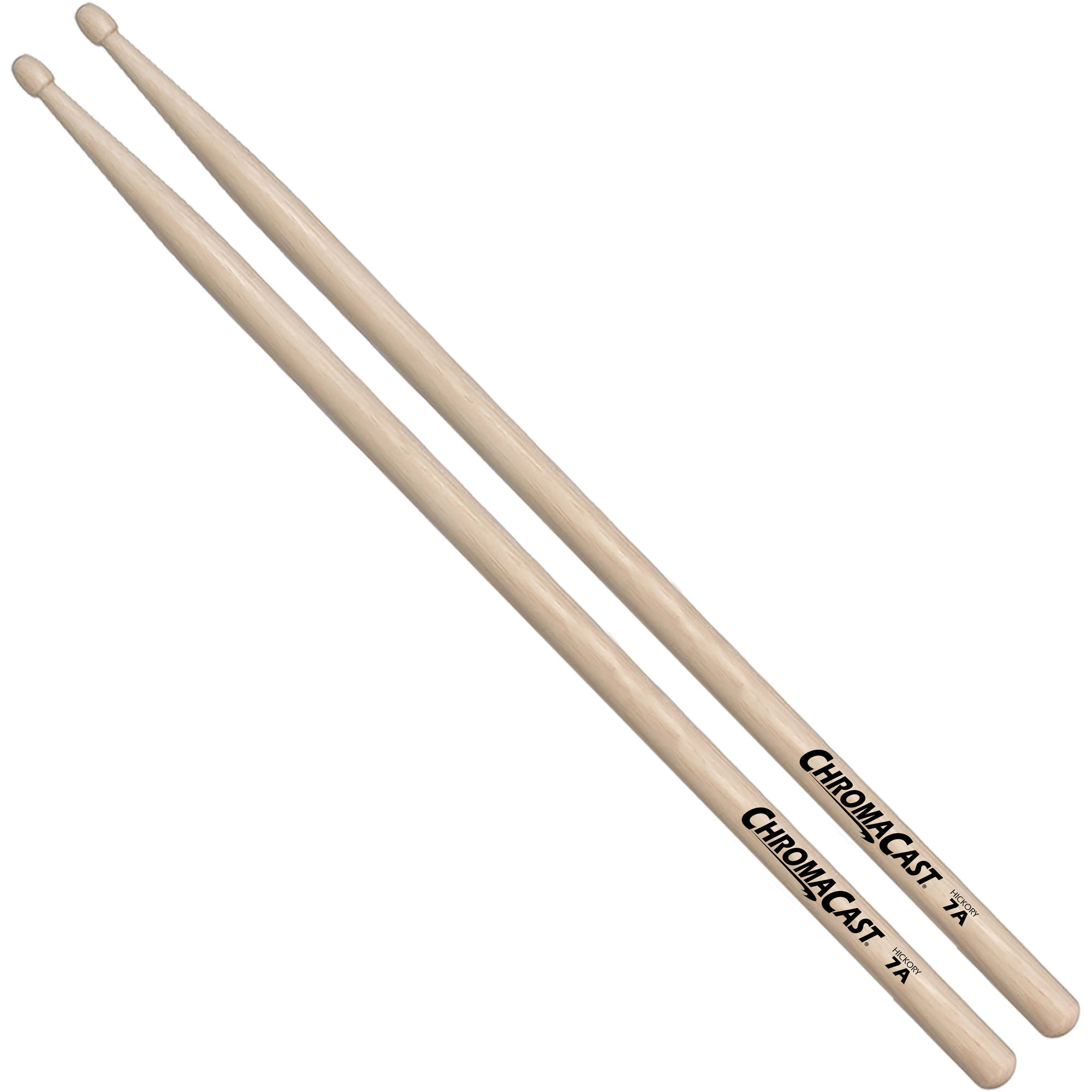 ChromaCast Hickory Nylon Tipped Drumsticks by