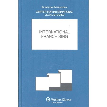 International Franchising  The Comparative Law Yearbook Of International Business