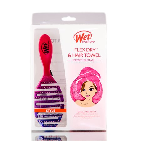 The Wet Brush Pro Style Flex Dry + Hair Towel -