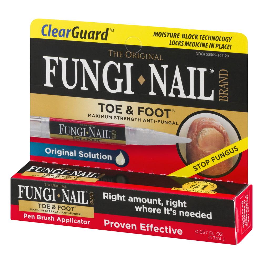 Clear Gaurd The Original Fungi Nail Brand Toe & Foot Pen Brush ...