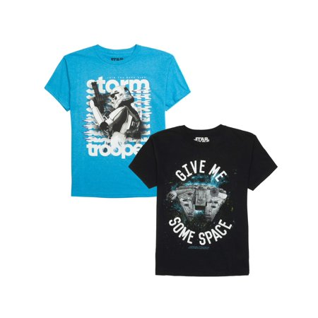 Star Wars Short Sleeve Graphic Tee Bundle (Little Boys & Big Boys) - Star Wars Kids Gifts