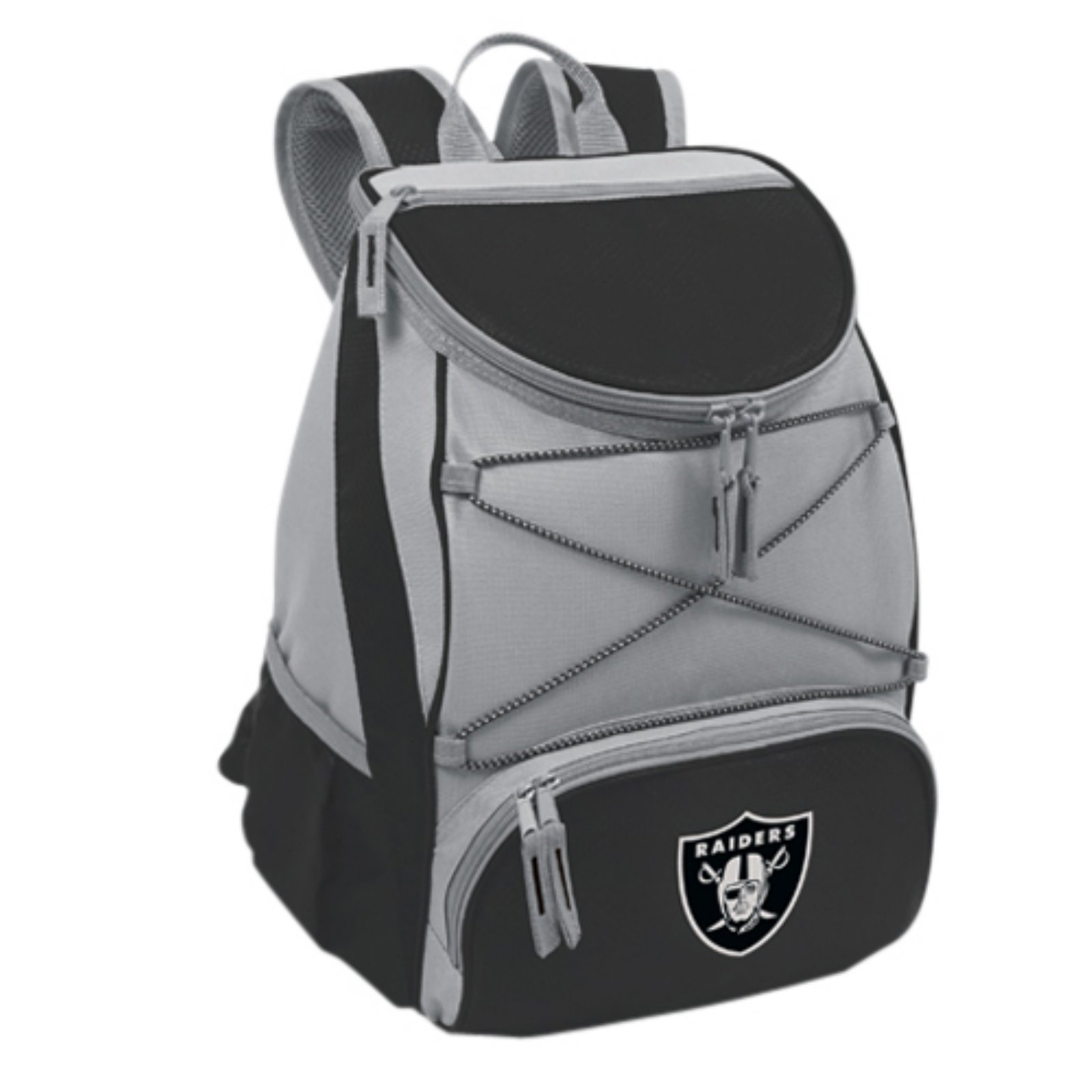 Picnic Time PTX Cooler, Black Oakland Raiders Digital Print