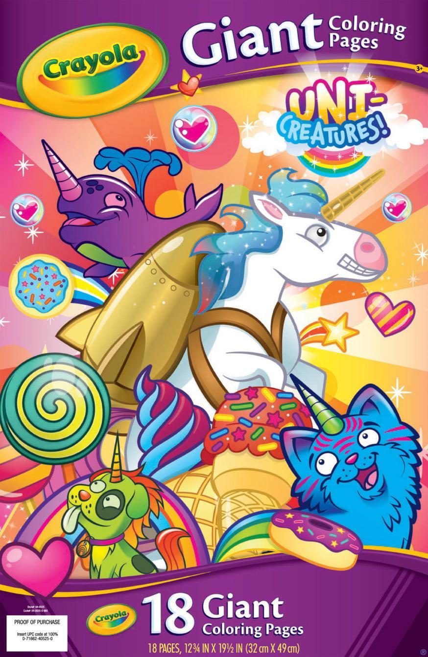 Crayola Sponge Painting Kit Trolls World Tour Paint Brushes Coloring 35 Pieces