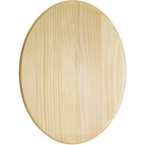 """Walnut Hollow Oval Pine Plaque, 9"""" x 12"""""""