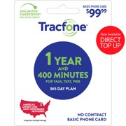 Tracfone $79.99 Basic Phone 90 Days Plan Direct Top Up