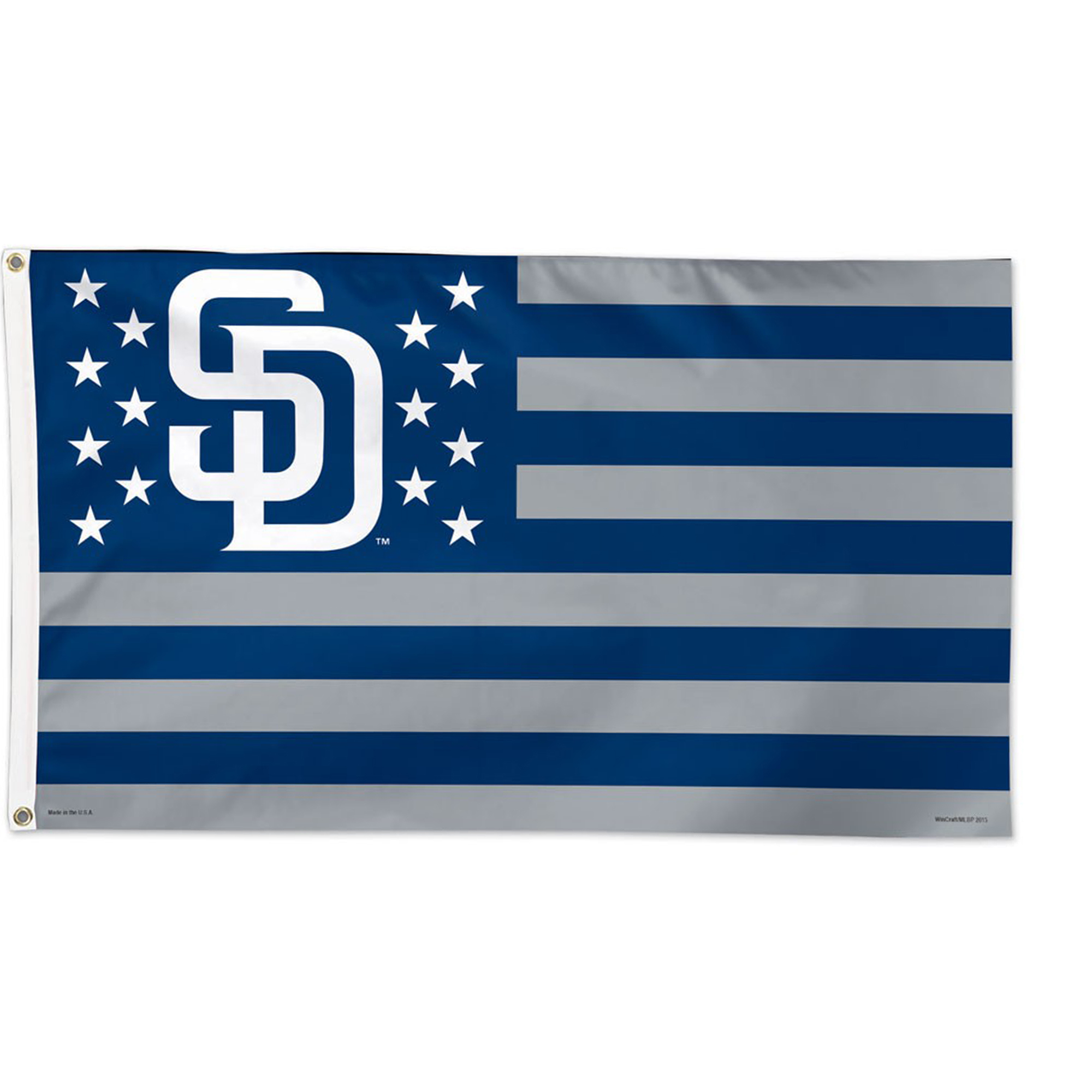 San Diego Padres WinCraft 3' x 5' Deluxe One-Sided Flag - No Size