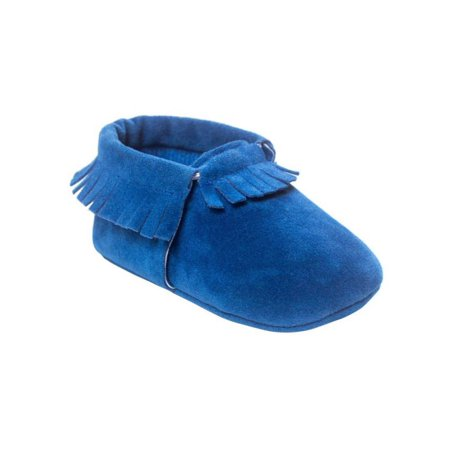 Baby Tassel Suede Leather Candy Color Shoes