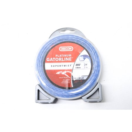 Image of .095' Platinum Gatorline Supertwist 24 ft Trimmer Line