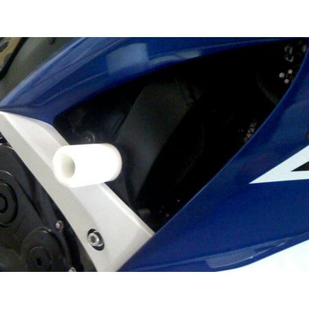 Rc51 Frame Sliders - Shogun Motorsports 750-4930 Frame Slider - White
