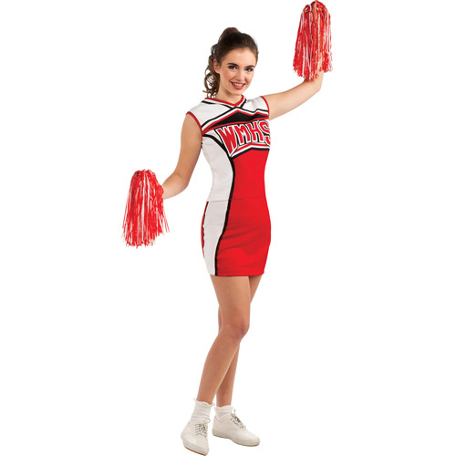 Cheerios Glee Cheerleader Adult Halloween Costume Size Womenu0027s - One Size  sc 1 st  Walmart : cheerleader halloween costume women  - Germanpascual.Com