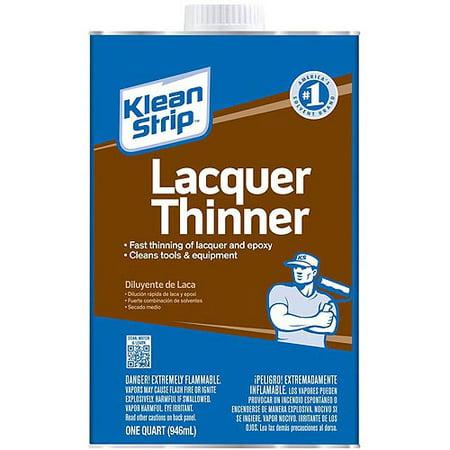 Thinner Quart (Klean-Strip Lacquer Thinner, VOC Compliant)