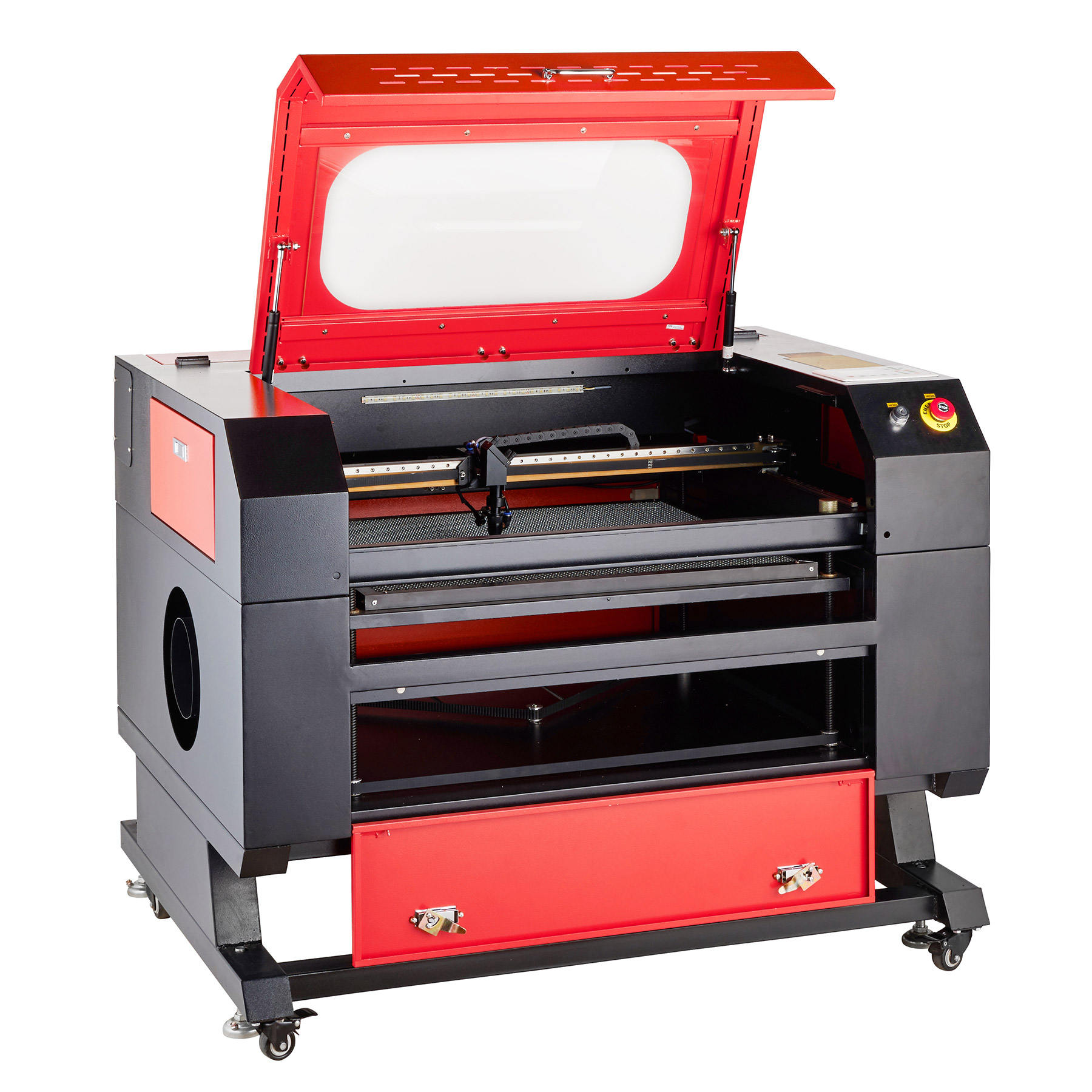 60w CO2 Laser Engraving & Cutting Professional Engraver Machine w/ Liftgate Service