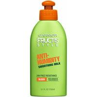 Garnier Fructis Style Anti-Humidity Smoothing Hair Milk, 5.1oz