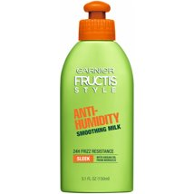 Hair Styling: Garnier Fructis Style Anti-Humidity Smoothing Milk