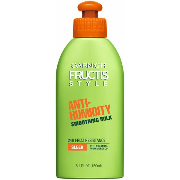 Garnier Fructis Style Anti-Humidity Smoothing Hair Milk, 5.1oz