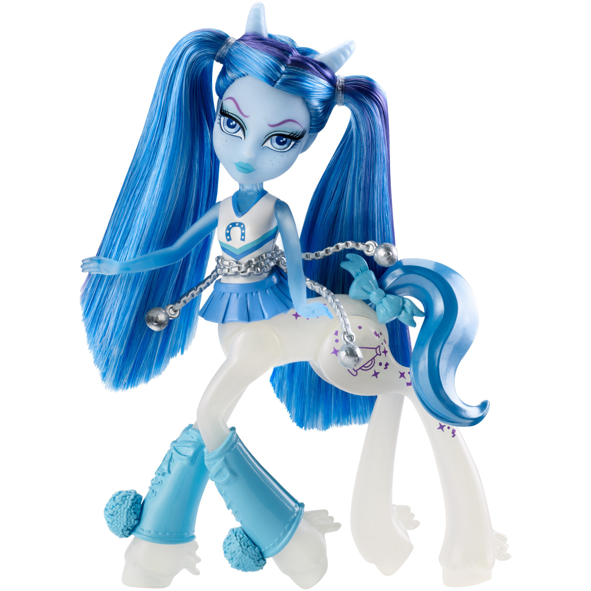 Monster High Fright-Mares Skyra Bouncegait by Mattel