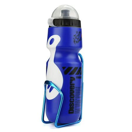 650ML Outdoor Water Bottle & Holder Cage Rack Mountain Cycling Bike Bicycle Kit (Cycling Starter Kit)